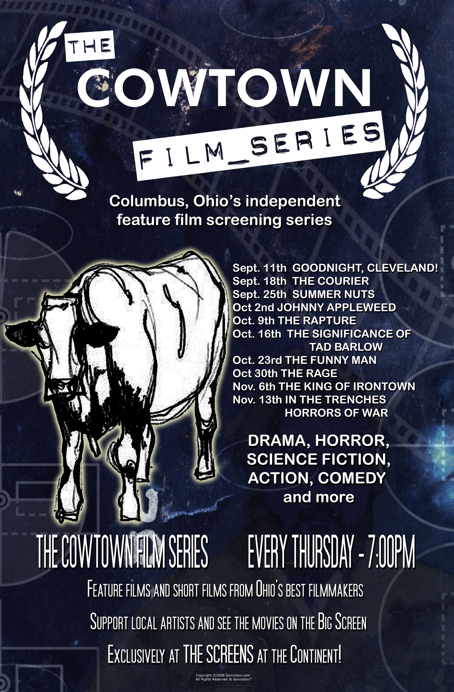 the cowtown film series